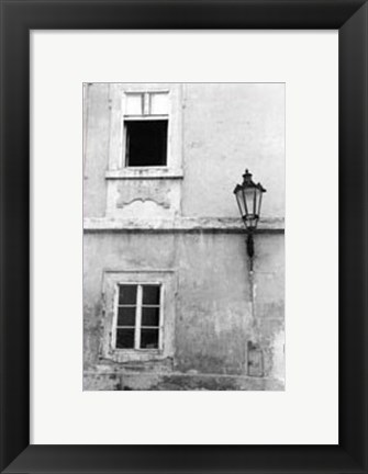 Framed Glimpses of Prague III Print