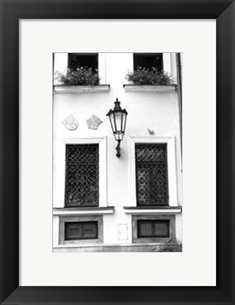 Framed Glimpses of Prague V Print