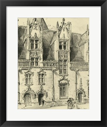 Framed Ornate Facade II Print