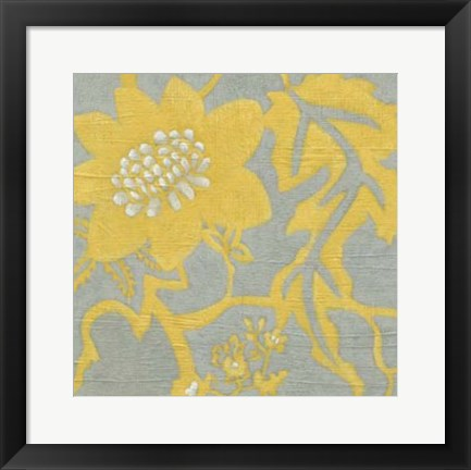 Framed Buttercup Botanical IV Print