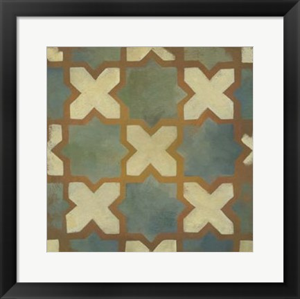 Framed Rustic Symmetry II Print