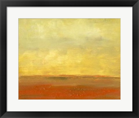 Framed Plains II Print