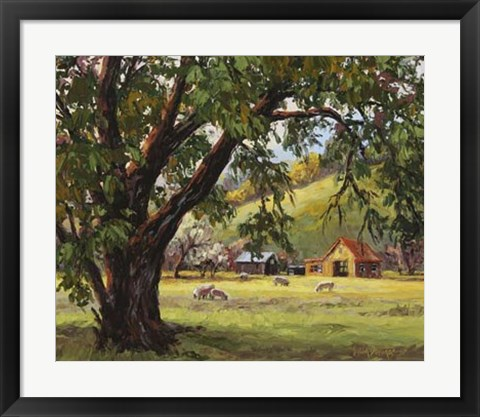 Framed Quiet Meadow Print