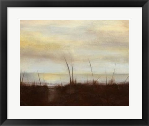 Framed Sunrise Stroll IV Print