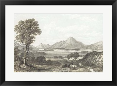 Framed View of Loch Lomond Print