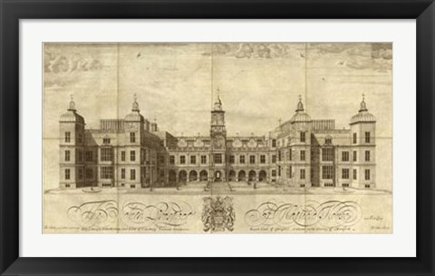 Framed Hatfield House Print