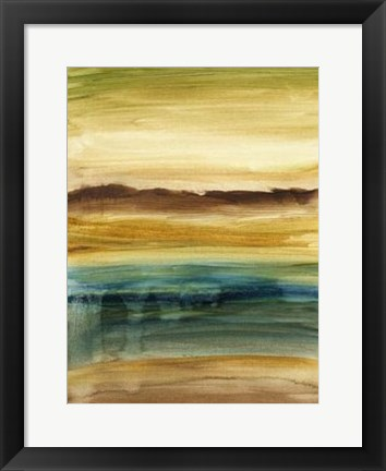 Framed Vista Abstract VI Print