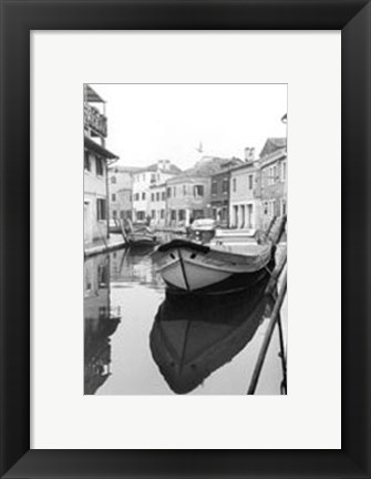 Framed Waterways of Venice VIII Print