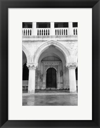 Framed Archways of Venice V Print