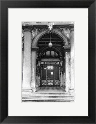 Framed Archways of Venice VI Print