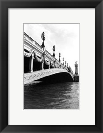 Framed Along The Seine River I Print