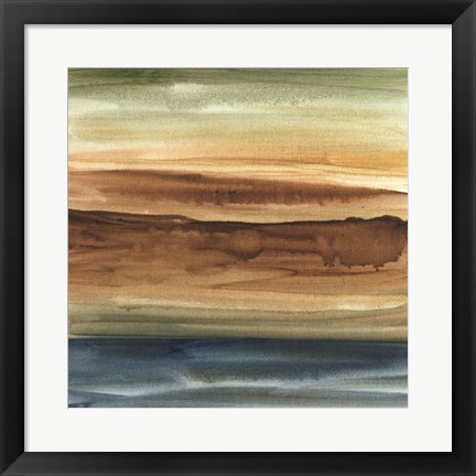 Framed Vista Abstract I Print