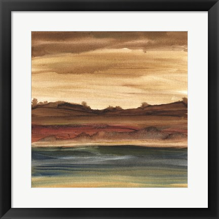 Framed Vista Abstract IV Print
