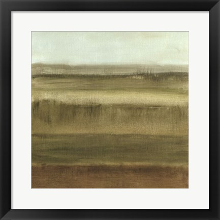 Framed Abstract Meadow II Print