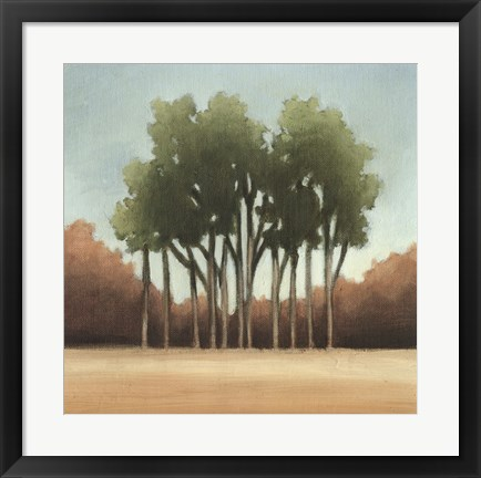Framed Stand of Trees I Print