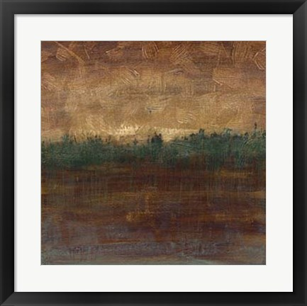Framed Distant Forest II Print