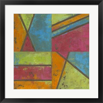 Framed Paradise Abstract II Print