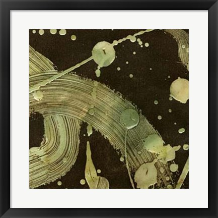 Framed Gravitation I Print