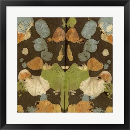 Framed Rorschach Abstract II Print
