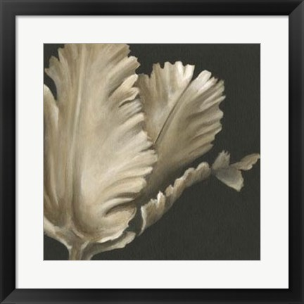 Framed Classical Blooms I Print