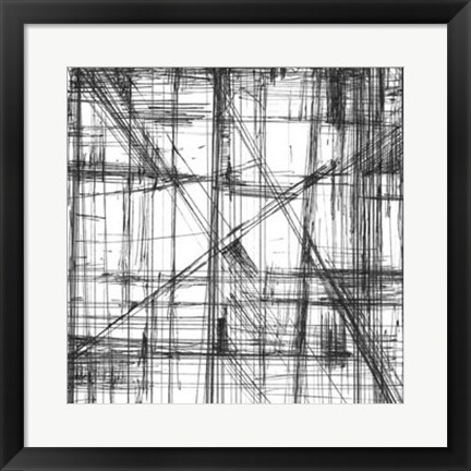 Framed Intersect II Print