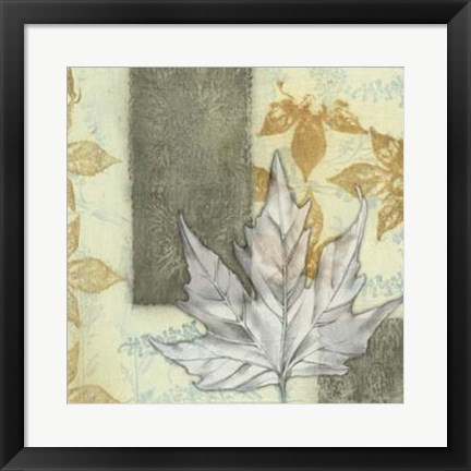 Framed Leaf Repeat I Print