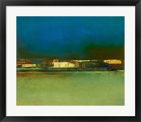 Framed City Afar I Print