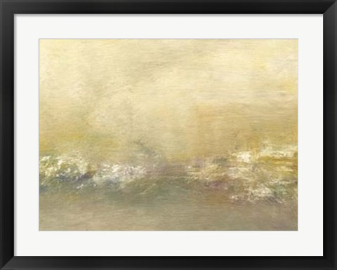 Framed Morning II Print