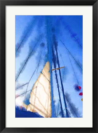 Framed Sailing III Print