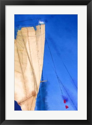 Framed Sailing IV Print