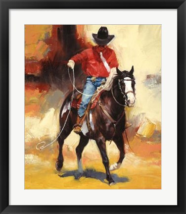 Framed Rodeo Style Print