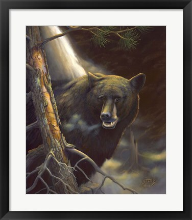 Framed Bear Portrait Print