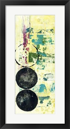 Framed Retro Textures II Print