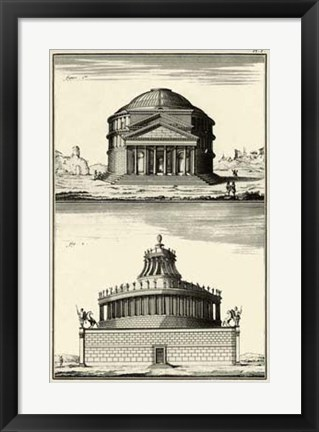 Framed Pantheon Print