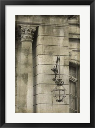 Framed Ornate Architecture III Print