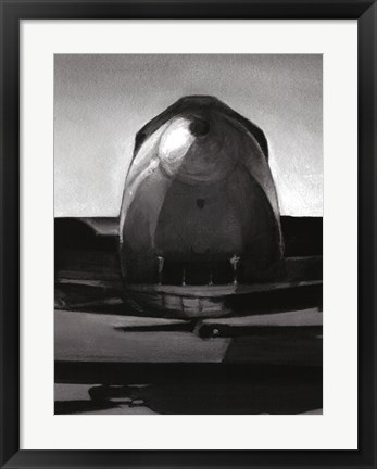 Framed Vintage Flight II Print