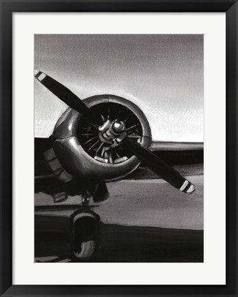 Framed Vintage Flight III Print