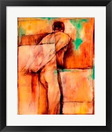Framed Abstract Proportions I Print