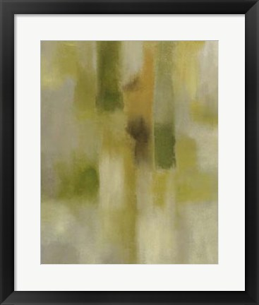 Framed Lotus Reflection II Print