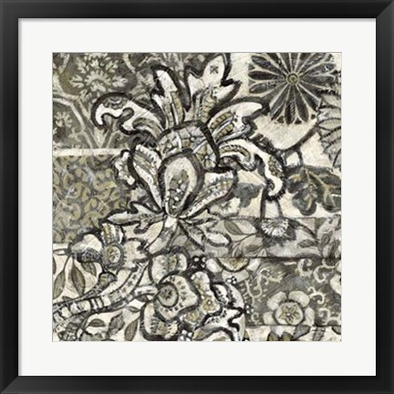 Framed Graphic Chintz IV Print