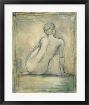 Framed Contemporary Figure Study I Print
