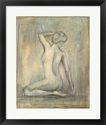 Framed Contemporary Figure Study II Print
