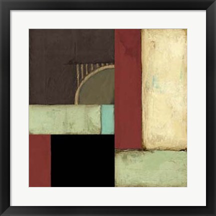 Framed Loft Abstract I Print