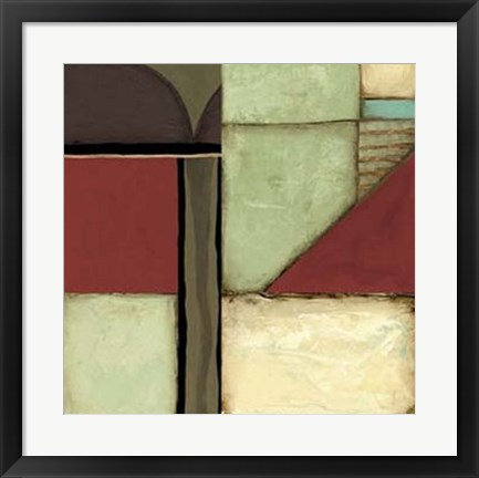 Framed Loft Abstract III Print