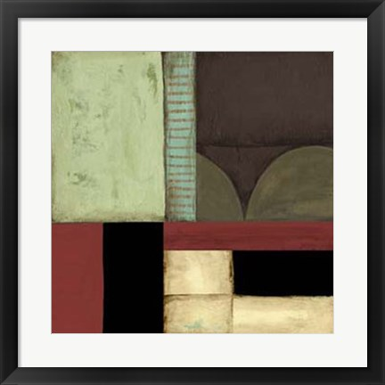Framed Loft Abstract IV Print