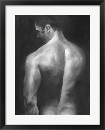 Framed Male Nude I Print