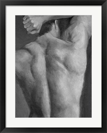 Framed Male Nude II Print