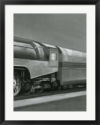 Framed Vintage Locomotive III Print