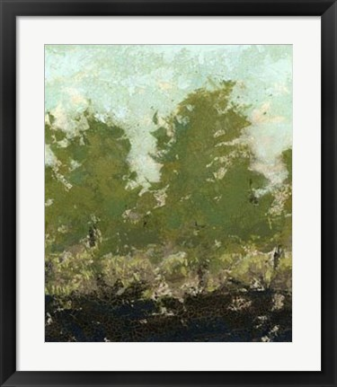 Framed Meadow Abstract II Print