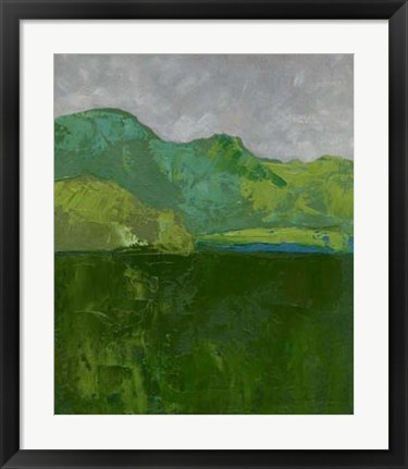 Framed Blue Ridge I Print